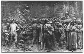 A 17 de Fevereiro de 1600 — O filósofo italiano Giordano Bruno é queimado vivo no Campo de Fiori em Roma, acusado de heresia