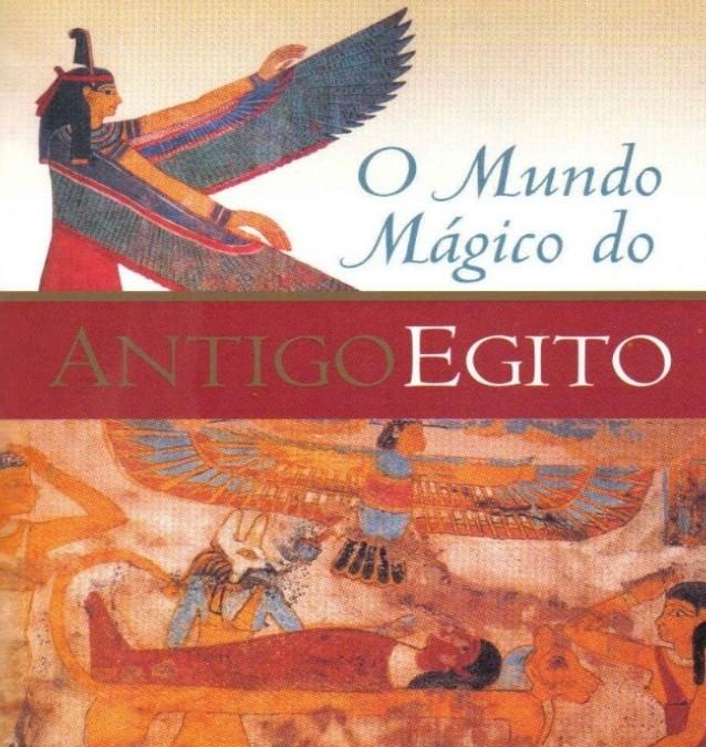 O Mundo Mágico do Antigo Egipto, livro de Christian Jacq