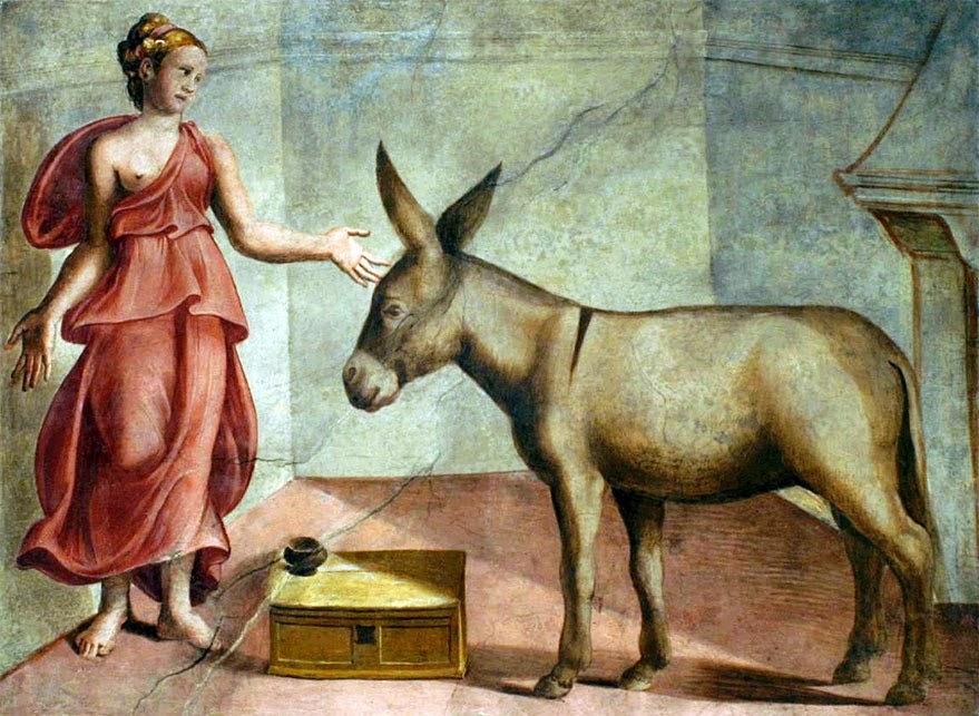 O Asno de Ouro, livro de Apuleio