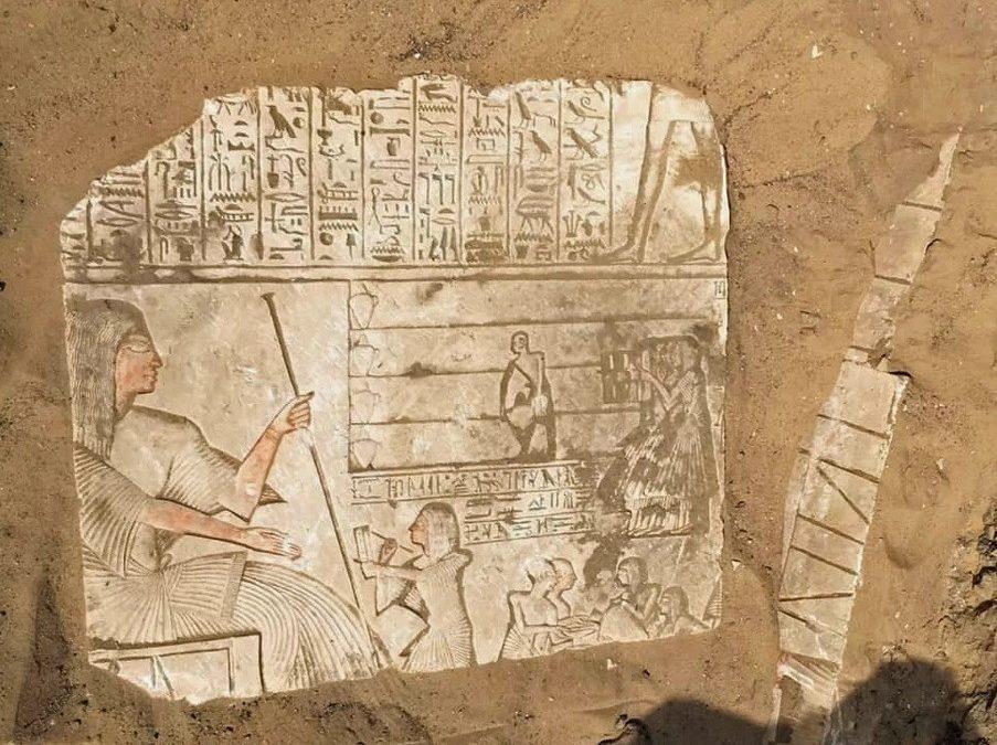 Sepultura egípcia de 3300 anos esconde segredos de guerra antiga