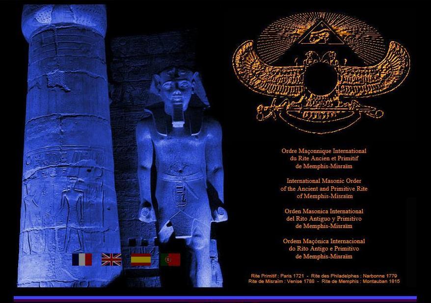 História do Rito Antigo e Primitivo de Memphis – Misraïm